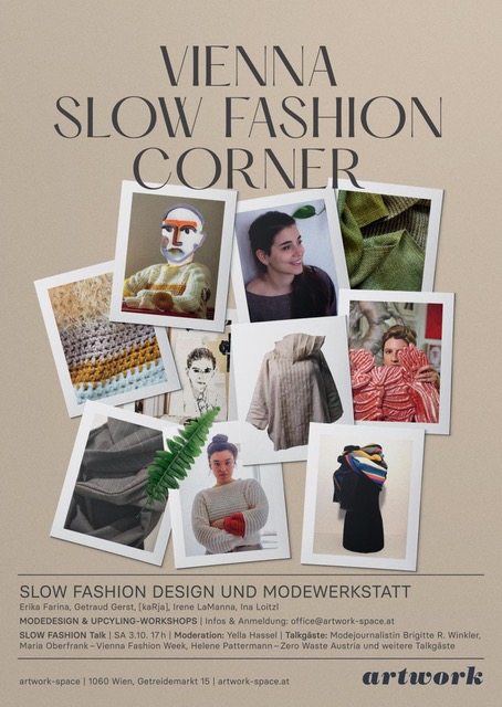 Flyer Vienna Slow Fashion Corner.
